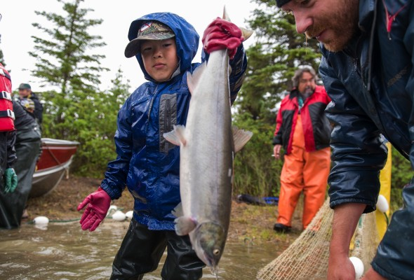 In the Heart of Alaska's Salmon Stronghold